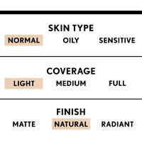 covergirl trublend light coverage foundation with natural finish for normal skin type
