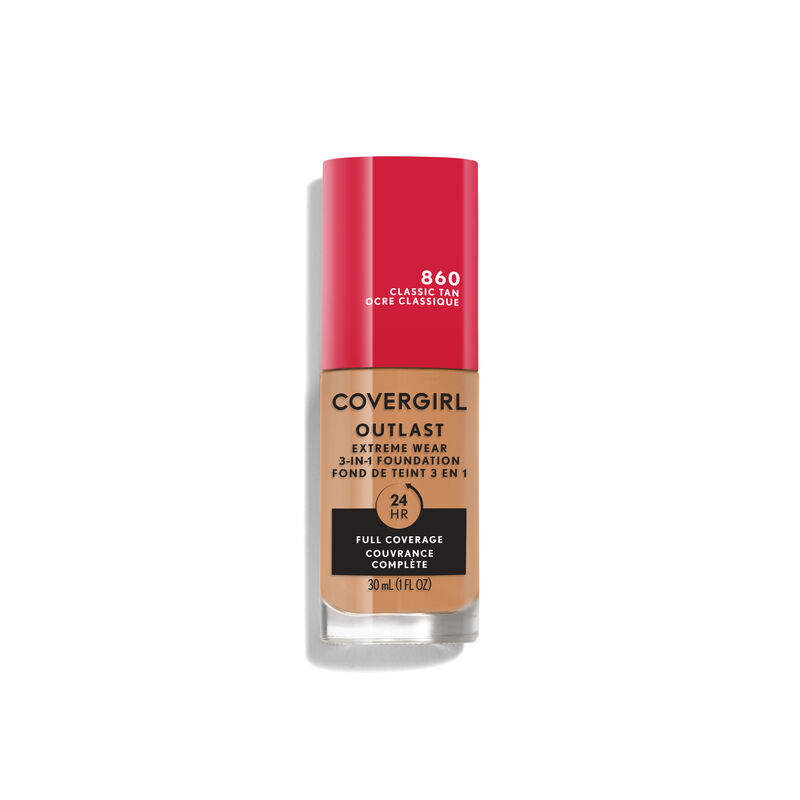 Covergirl Outlast Extreme Wear 3-in-1 Full Coverage Liquid Foundation {variationvalue}