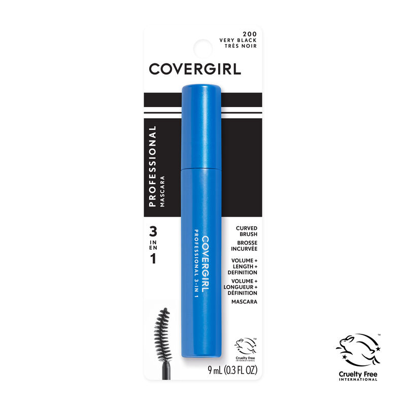 Professional All-In-One Curved Brush Mascara {variationvalue}