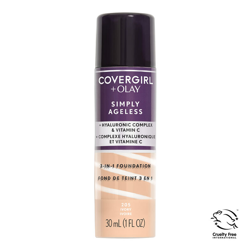 Covergirl + Olay Simply Ageless 3-in-1 Liquid Foundation {variationvalue}